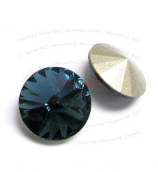2x Swarovski Elements Rivoli Stone Crystal 1122 Montana 14mm