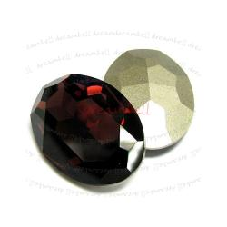 1x Swarovski Elements Oval Cabochon Stone Crystal 4127 Burgundy 30mm x 22mm