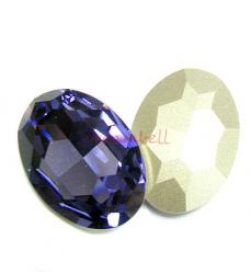 1x Swarovski Elements Oval Cabochon Stone Crystal 4127 Tanzanite 30mm x 22mm