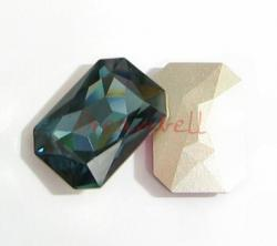 1x Swarovski Elements Octagon Cabochon Stone Crystal 4627 Montana 27mm x 18.5mm