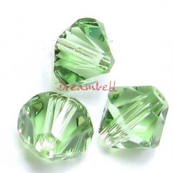 72x Swarovski Elements Xilion Crystal 5328 Peridot 3mm