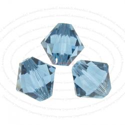 12 x Swarovski Elements Xilion Crystal 5328 Denim Blue 8mm