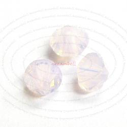 72 Swarovski Elements 5328 Xilion Crystal Bead Rose Water Opal 4mm