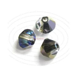 72x Swarovski Elements Xilion Crystal 5328 Bermuda Blue 4mm