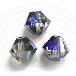 72 x Swarovski Elements Xilion Crystal 5328 Heliotrope 4mm