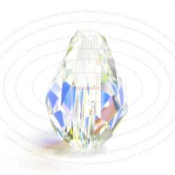 2x SWAROVSKI Crystal 5500 Tear drop BRIOLETTE BEADS 10.5mm