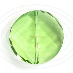 1x Swarovski Elements Crystal 5621 Twist Bead Crystal Peridot 18mm