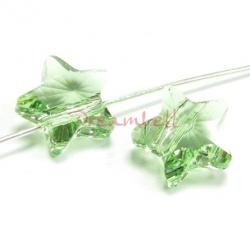 4x Swarovski Elements Crystal 5714 Star Peridot 8mm New
