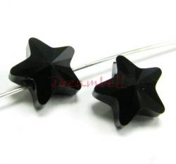 4x Swarovski Elements Crystal 5714 Star Jet 8mm New