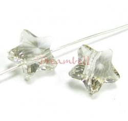 4x Swarovski Elements Crystal 5714 Star Silver Shade 8mm New