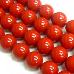 50x Swarovski Elements Crystal Pearls 5810 Round Red Coral 3mm