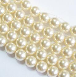 50x Swarovski Elements Crystal 5810 Round Creamrose Lt Pearl 4mm