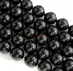 50x Swarovski Elements Crystal Pearls 5810 Round Mystic Black 6mm