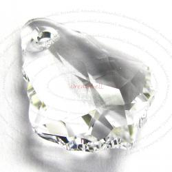 2x Swarovski Crystal 6090 Baroque Crystal Pendant 16mm