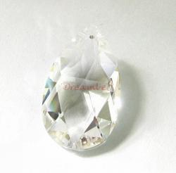 Swarovski Crystal Teardrop 6106 Pendant Clear 28mm