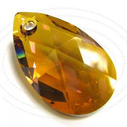 Teardrop Swarovski Crystal 6106 Pendant Copper 38mm