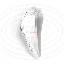 Pegasus Wing Swarovski Crystal 6150 Pendant Clear 30mm