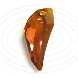 Pegasus Wing Swarovski Crystal 6150 Pendant Copper 30mm