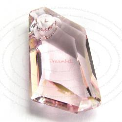 Swarovski Elements Crystal 6670 18mm Light Rose Pink Pendant