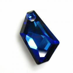 Swarovski Elements Crystal 6670 24mm Bermuda Blue Pendant