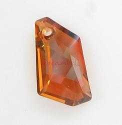 Swarovski Elements Crystal 6670 18mm Copper Pendant