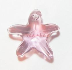 Swarovski Crystal Starfish 6721 Star Fish Light amethyst 20mm