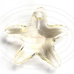 1 Swarovski Crystal Starfish 6721 Star Fish SILK NEW