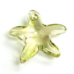 NEW Swarovski Crystal Starfish 6721 Star Fish Luminous Green 16mm
