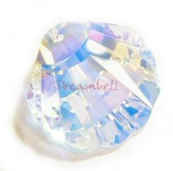 Swarovski Seashell 6723 Crystal Pendant 28mm Clear AB