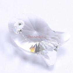 1x Swarovski Crystal Fish Pendant Clear 6727