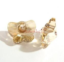 1x Swarovski Elements Crystal 6754 18mm Butterfly Pendant Golden Shadow