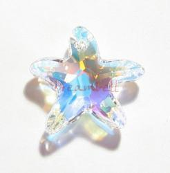 NEW Swarovski Crystal Starfish 6721 Star Fish clear AB 20mm