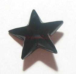 SWAROVSKI CRYSTAL 6714 STAR PENDANT 20MM Bead Jet Black