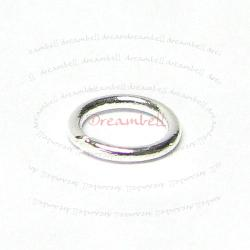 200x Silver plated Metal Open Jump Rings Bead 5mm