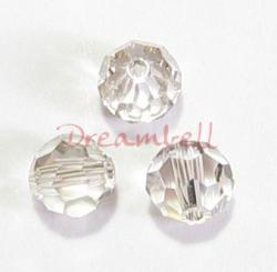 12 Swarovski Crystal Elements 5000 Round Silver Shade 4mm