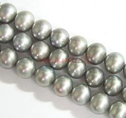 "16"" Fresh Water Pearl Potato Silvery Grey 5.5mm"