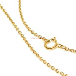 1x 14k Gold Filled Rolo Chain Necklace 18""