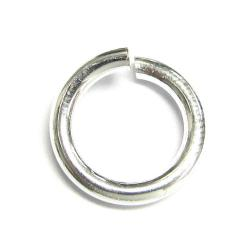 4x Sterling Silver Open Jump Rings Wire 15ga 9mm (HEAVY) 15 Gauge