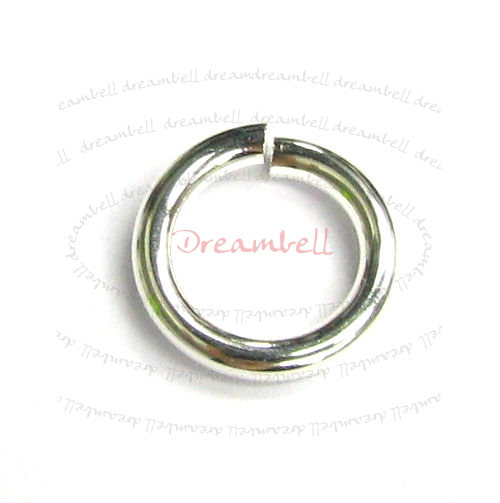 4x Bright Silver Filled .925 Round Open Jump Rings 14 Gauge Wire 10mm 14GA
