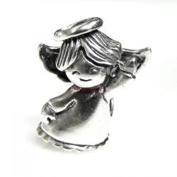 Sterling silver Dancing Angel Bead for European Charm Bracelets