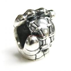 Sterling silver Baseball Mitt Glove Bead for European Charm Bracelets