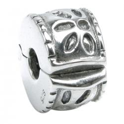 1x Sterling Silver Stopper Clip Lock Bead for European Charm Bracelets