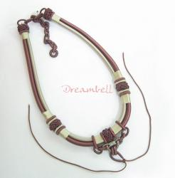 Chinese HAND KNOTTED SILK PENDANT CORD NECKLACE