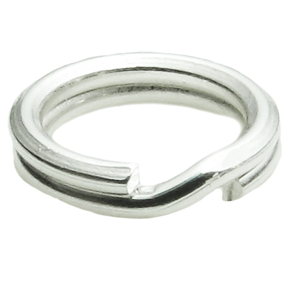 20x SPLIT Jump Rings 925 Sterling Silver Wire 6mm