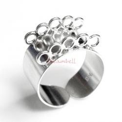 1 x BRIGHT STERLING SILVER Ring Case (heavy)