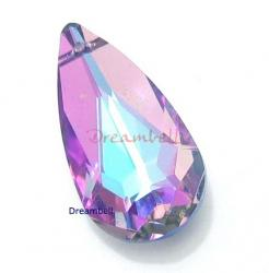 SWAROVSKI CRYSTAL 6100 VITRAIL LIGHT 24mm TEARDROP Pendant