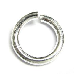 2x Open Jump Rings 925 Sterling Silver Wire 10mm (HEAVY)