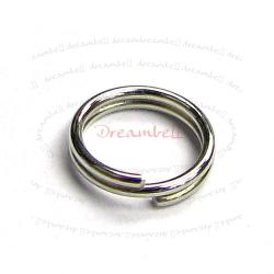 200x Split Jump Rings Metal Wire 6mm