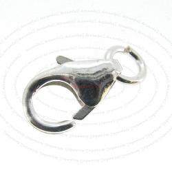 5x Sterling Silver Oval Trigger Pear Lobster Clasp 10mm x 6mm