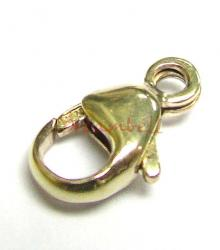 1X 14k gold filled LOBSTER Trigger CLASP BEAD  9mm